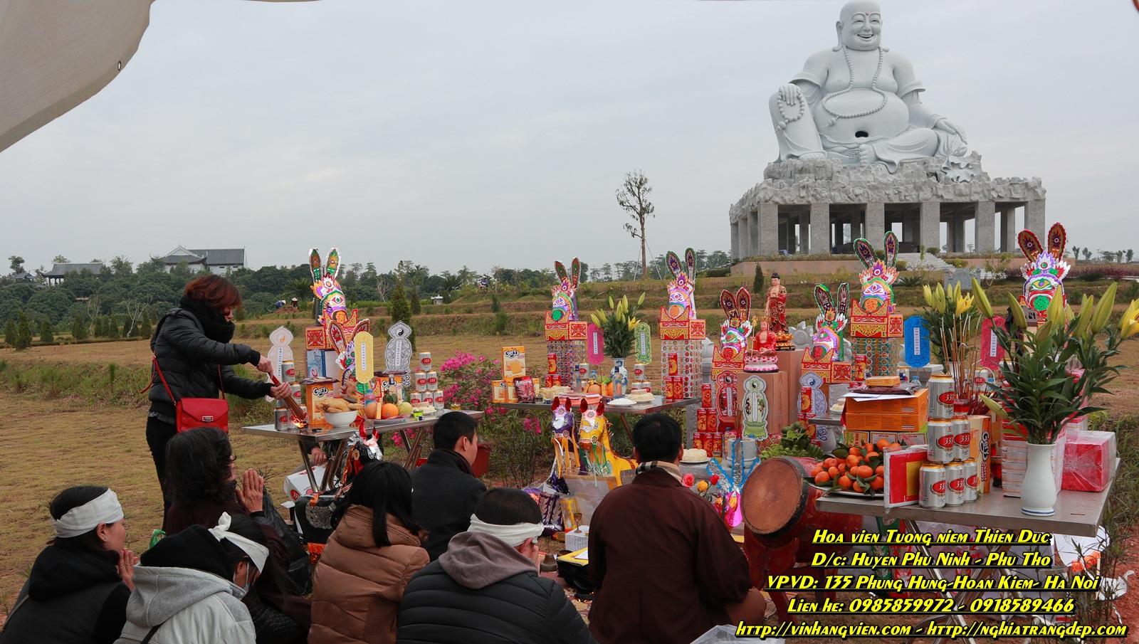 Hình ảnh - Dịch vụ tang lễ - an táng - mai táng tại nghĩa trang Thiên Đức