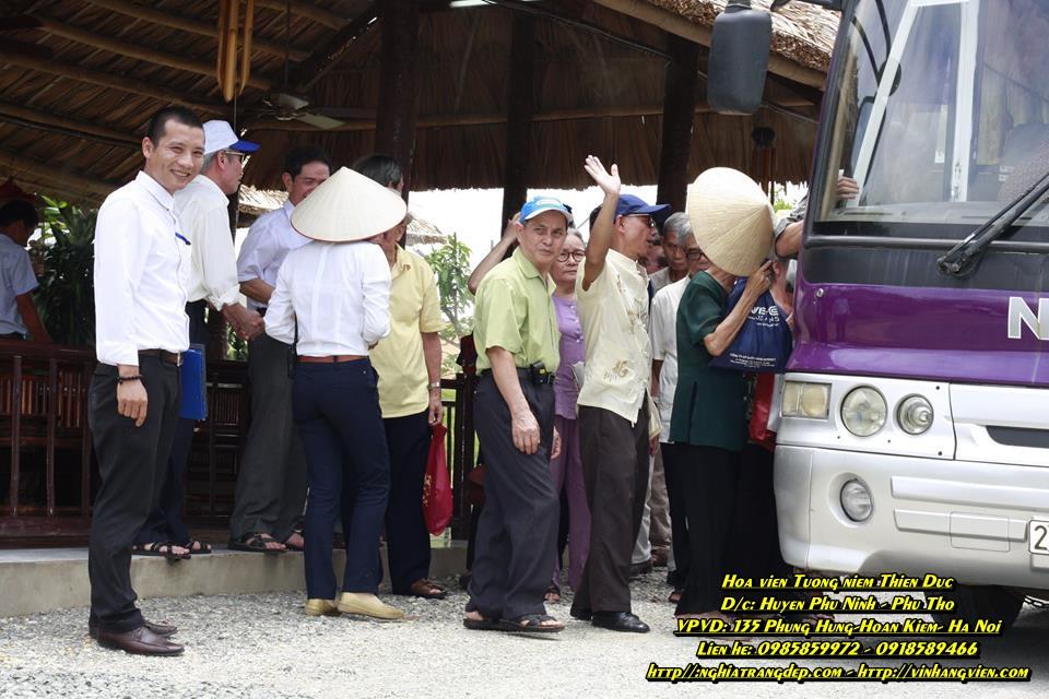 Chùm ảnh Hội người cao tuổi Phường Ngọc Hà và nơi nghỉ chân -2014