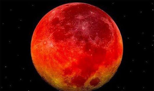 Mặt trăng máu vào ngày 28/9/2015: Giải đáp điềm báo từ kinh sách cổ