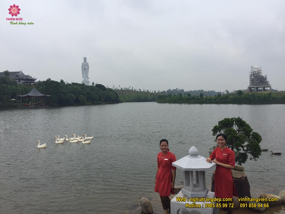 Hình ảnh công viên Thiên Đức tháng 8/2017
