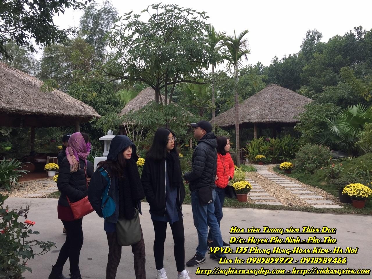 Hình ảnh Công viên Thiên Đức Tháng 01/2018