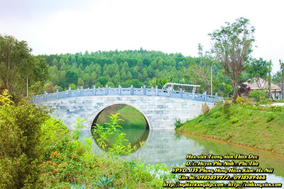 Hình ảnh công viên Thiên Đức tháng 7/2017
