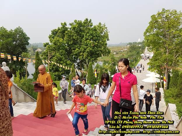 Đại lễ yểm tâm tượng Phật Adi Đà tại Công viên Thiên Đức