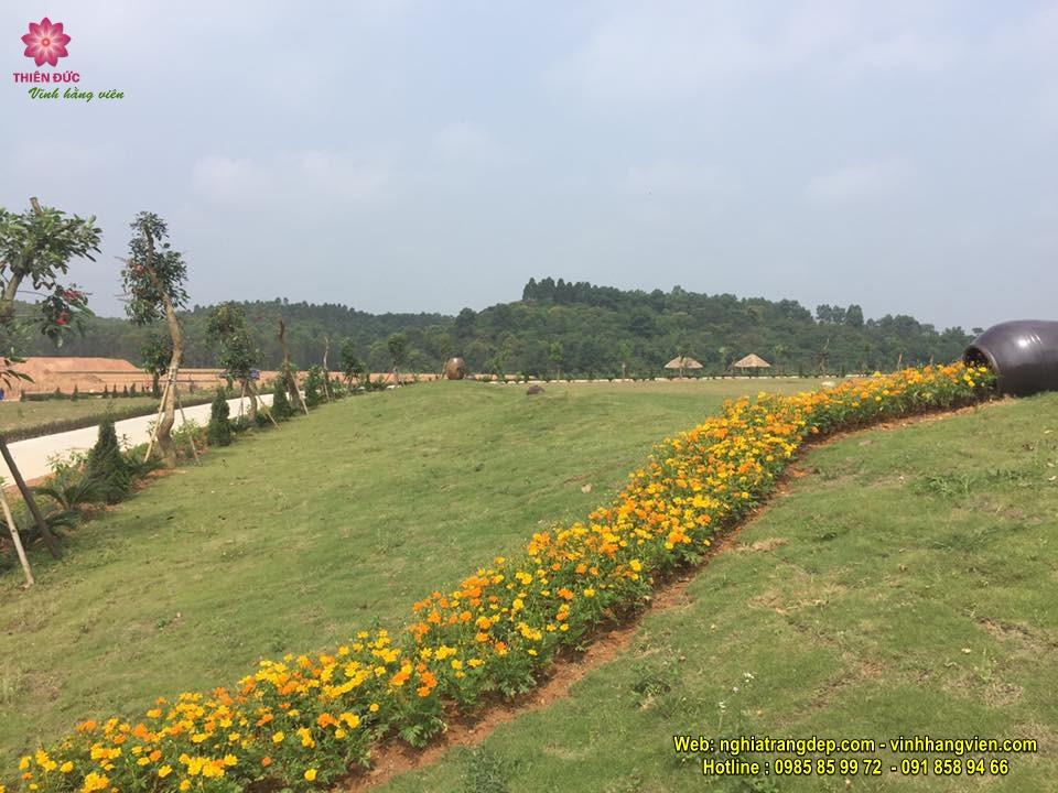 Hình ảnh công viên Thiên Đức tháng 5/2017