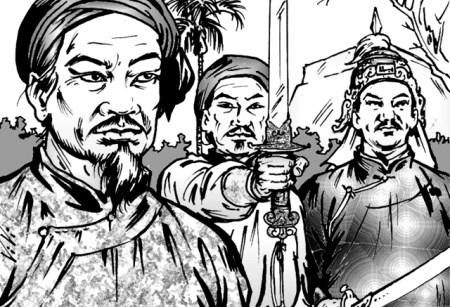 Long huyệt trên dãy Hoành Sơn và câu chuyện đặt mộ cha của Tam kiệt Tây Sơn
