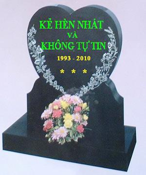Tự chôn mình tại Nghĩa trang online