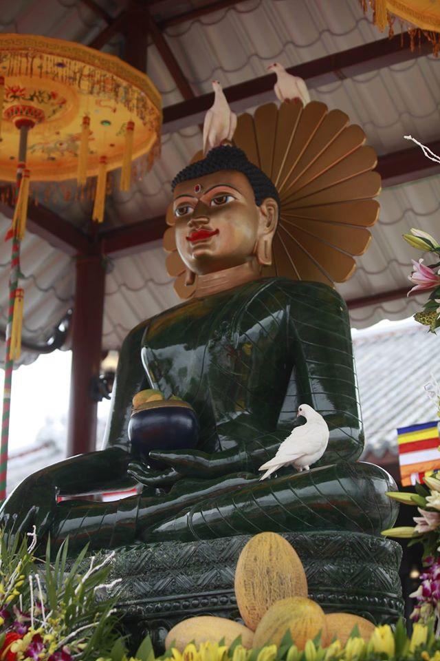 Nhân duyên hy hữu: Tượng Phật ngọc hoà bình thế giới đến Phú Thọ