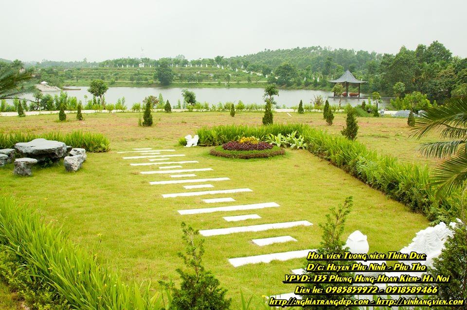 Khuôn viên mộ phần - gia tộc - 130m - Đồi Đại Phúc - Thiên Đức vĩnh hằng