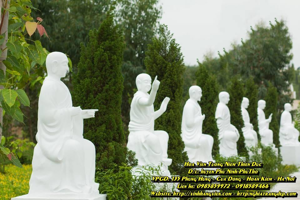 18 vị La Hán - Công viên Thiên Đức