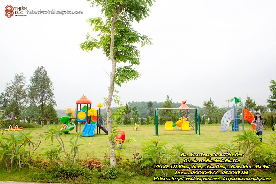 Khu vui chơi ngoài trời - Công viên Thiên Đức