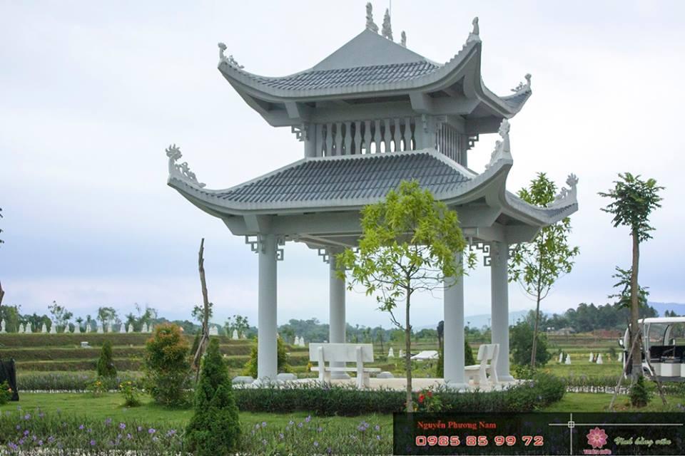 Nhà Bát Giác - Đền Thờ Thần Linh - Thiên Đức