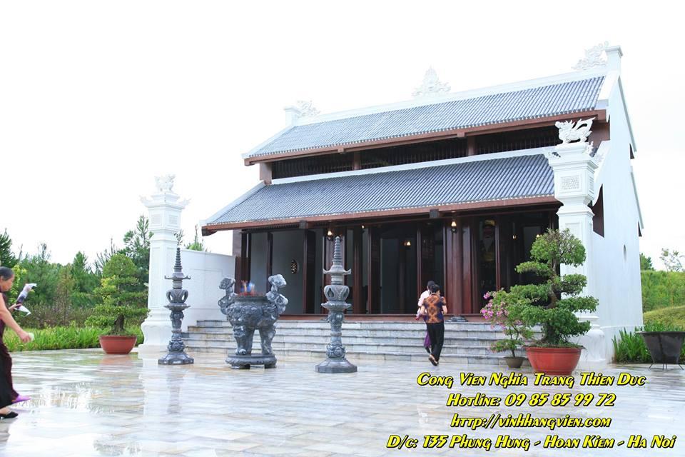 Đền Trình - Công viên Thiên Đức