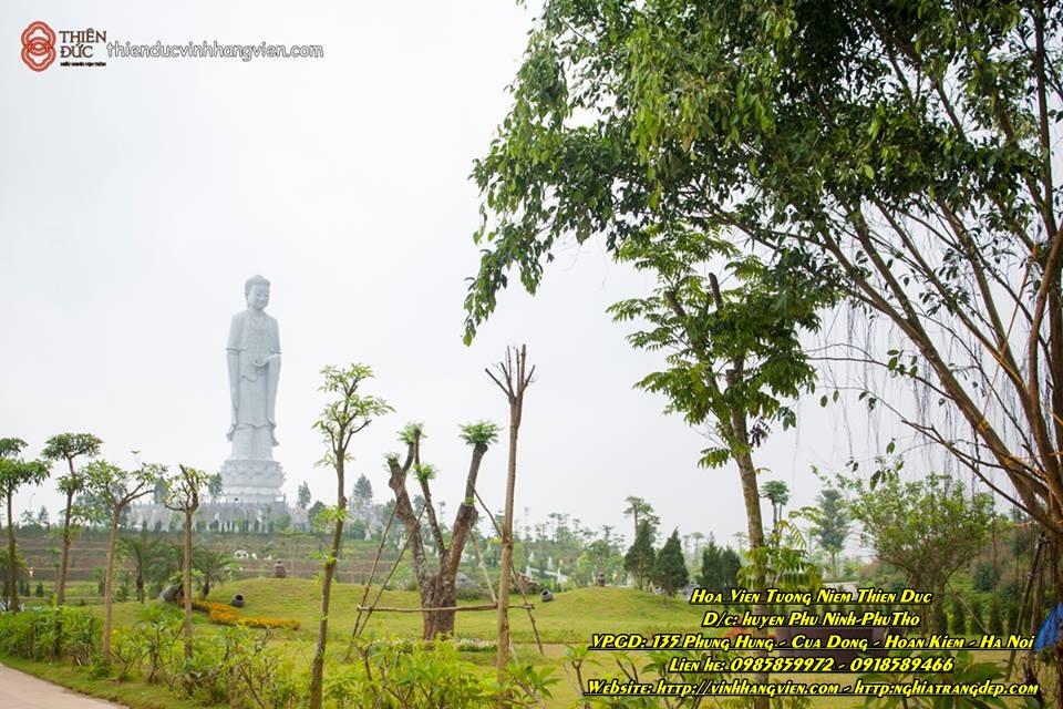 Tượng Phật A DI ĐÀ - Công viên Thiên Đức