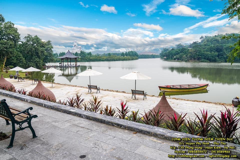 Bến Du Thuyền - Công viên Thiên Đức