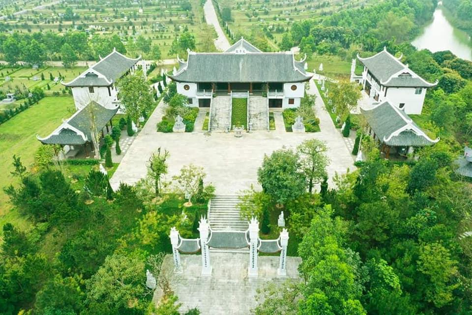 Chùa Thiên Long - Công viên Thiên Đức