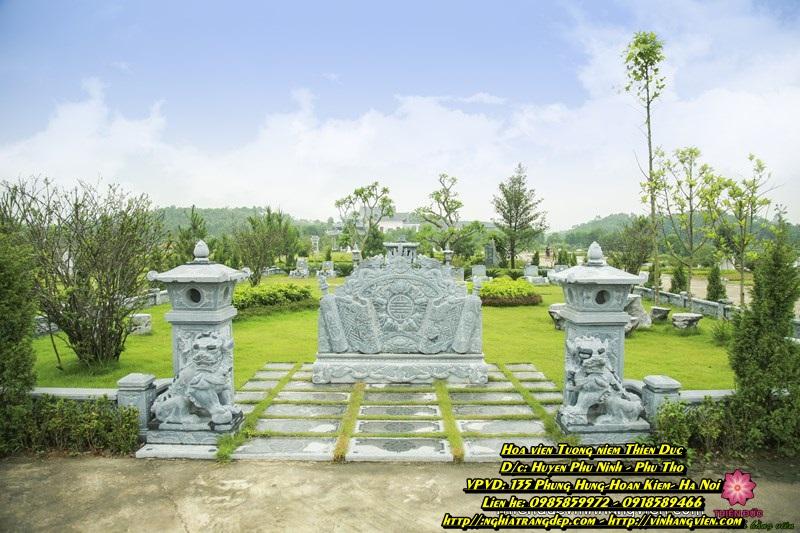 Mộ phần Gia tộc - Công viên Thiên Đức